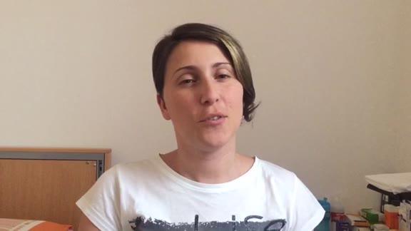 """Carmela De Fezza: """"Sognavo di tornare da mio figlio e mio marito"""""""