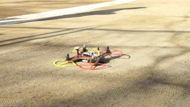 Video: Il drone ultraleggero in canapa autocostruito