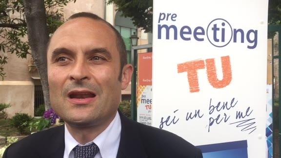 """""""Tu sei un bene per me"""", pre-meeting a Loano col ministro Costa"""