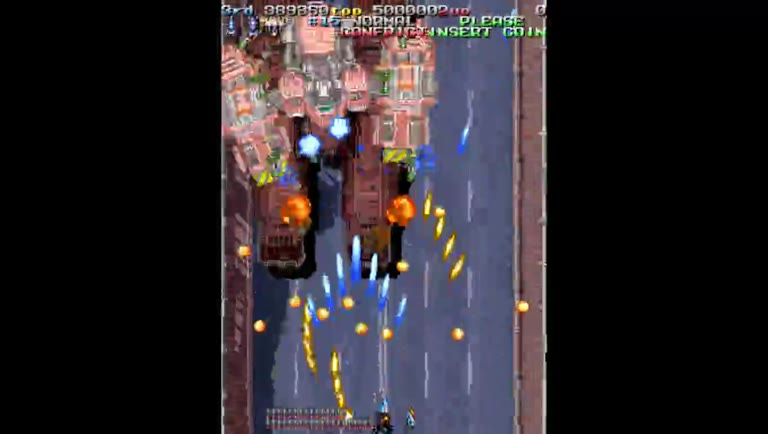 M.A.M.E. - Armed Police Batrider [Japan, Version B] - Points [Single Player - Normal Mode] - 1,528,540 - Derek Camin