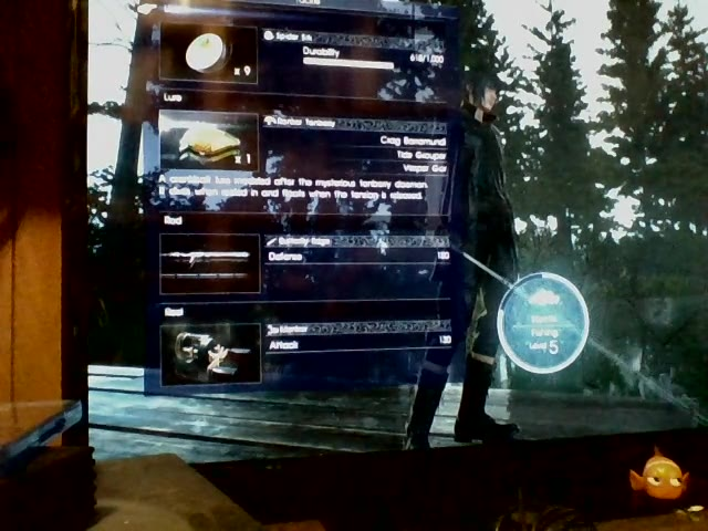 PlayStation 4 - Final Fantasy XV - Heaviest Fish Caught - Chipped Bluegill - 2.0 - Brandon Finton
