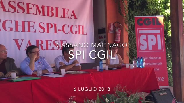 Video: L'assemblea dello Spi Cgil