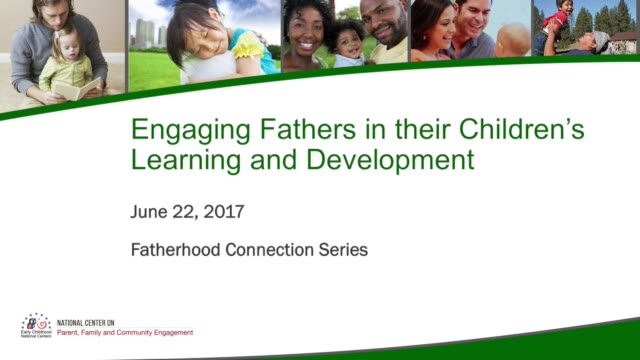 Engaging Fathers in Their Children's Learning and Development