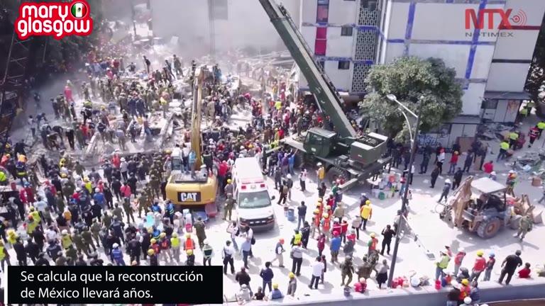 Terremoto en México screenshot