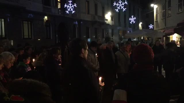 Video: In piazza per ricordare Marianna