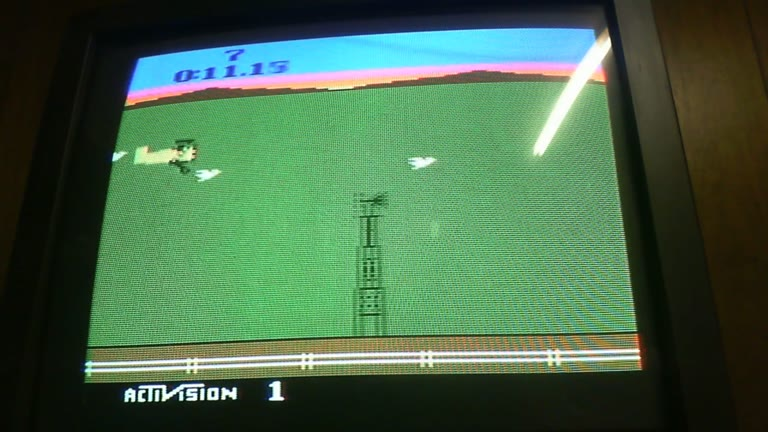 Atari 2600 / VCS - Barnstorming - NTSC - Game 1, Difficulty BB [Fastest Time] - 32.75 - glen sampson
